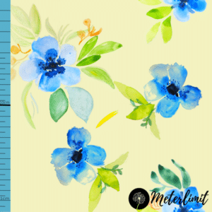 Blue watercolor florals dream Vorlage_ Maßband+Logoxcf cropped
