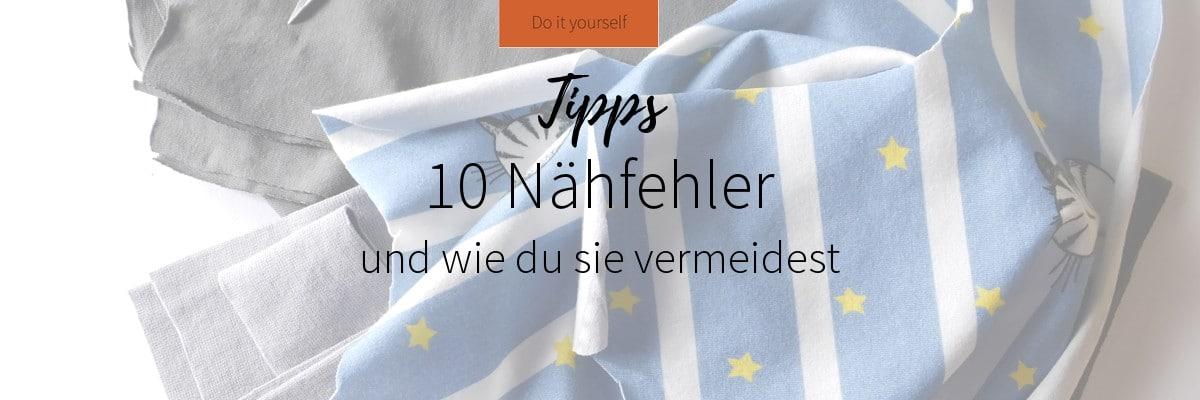 10 Nähfehler und wie du sie vermeidest