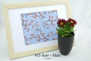 #15 Aeste - blau