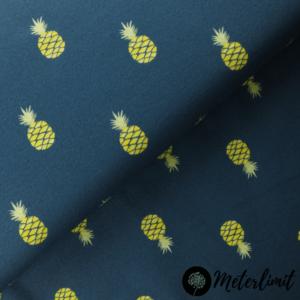 #18 Ananas - marineblau live cropped