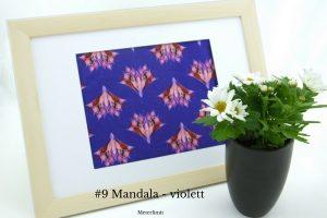 #9 Mandala - violett