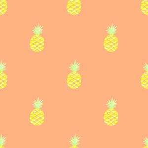Ananas - orange Metelimit Jersey