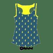 Ananas marineblau TopPinterest