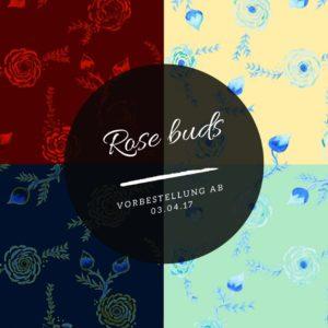 Rose Buds Meterlimit Jersey