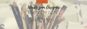 Stoff bedrucken Made in Germany - Werde in drei Schritten zum Designer