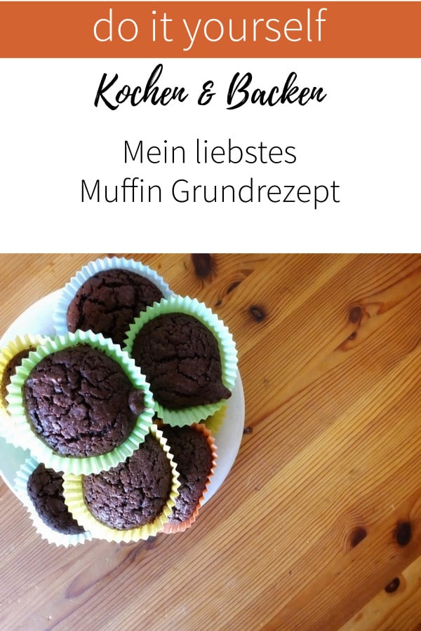 Mein liebstes Muffin Grundrezept für dein nächstes Backerlebnis