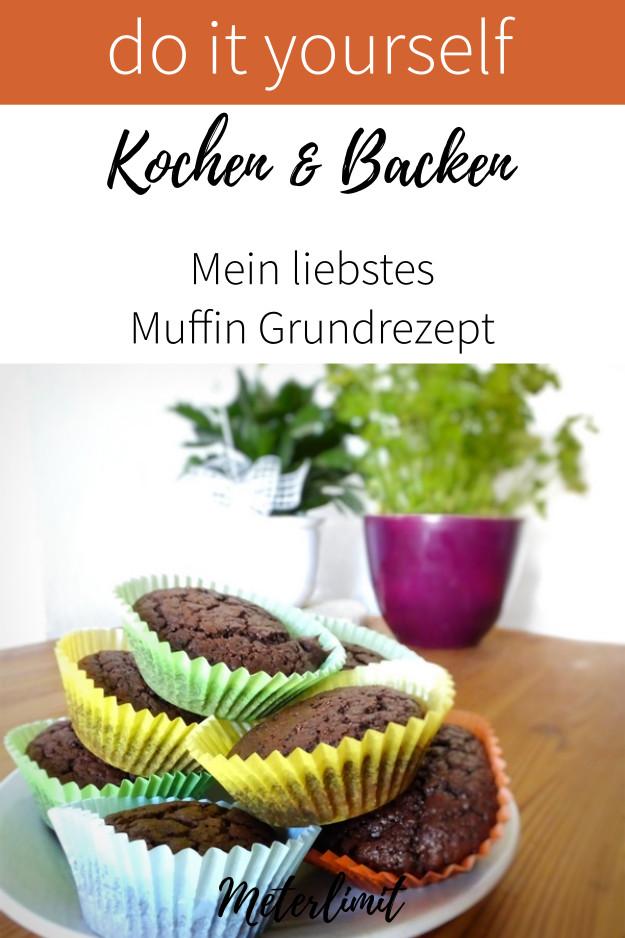 Mein liebstes Muffin Grundrezept
