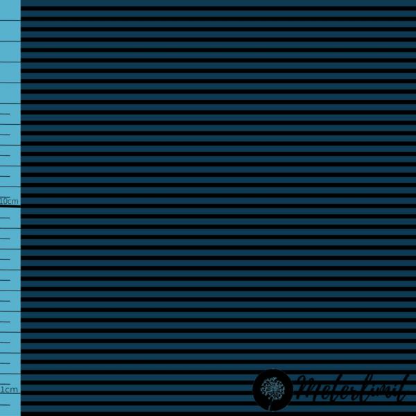 MLBSL-#00016 Schwarze Linien Sailor Blue blau Baumwolljersey Vorlage_ Maßband+Logoxcf cropped