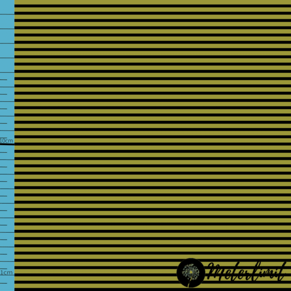 MLBSL-#0003 Schwarze Linien Golden Lime grün Baumwolljersey Vorlage_ Maßband+Logoxcf cropped