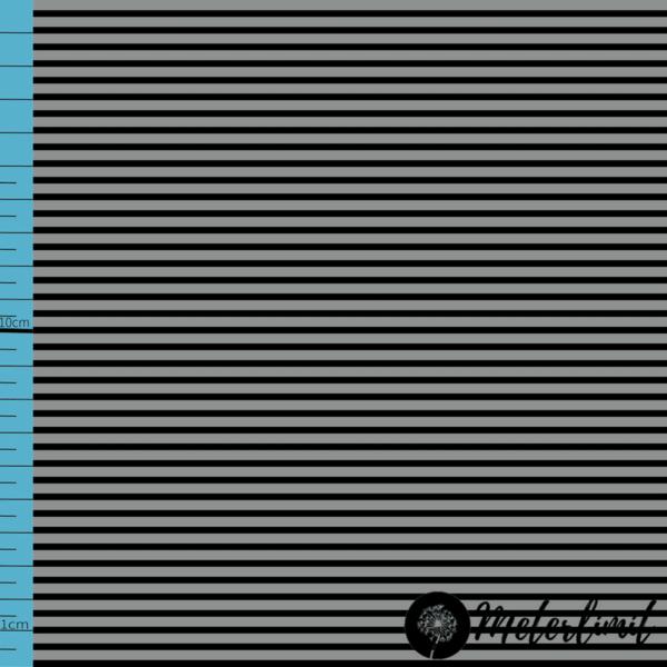 MLBSL-#0005 Schwarze Linien Neutral Grey grau Baumwolljersey Vorlage_ Maßband+Logoxcf cropped