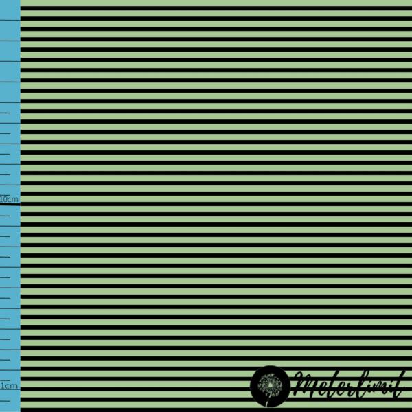 MLBSL-#0009 Schwarze Linien Nile green grün Baumwolljersey Vorlage_ Maßband+Logoxcf cropped