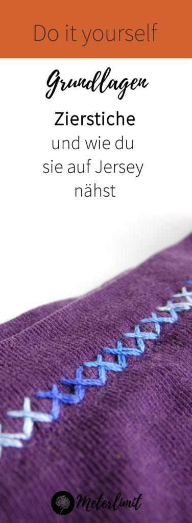 NEXT LEVEL: Zierstiche auf Jersey nähen! Mit diesen Tipps schaffst du dein nächstes Nähprojekt!